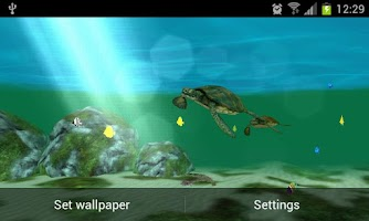 Screenshot of My Seaturtles HD LWP