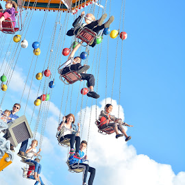 Happy ;)  by Dragan Rakocevic - City,  Street & Park  Amusement Parks