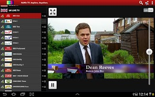 Screenshot of NuWin Live TV - Watch & Record