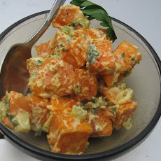 Creamy Dijon Sweet Potato Salad