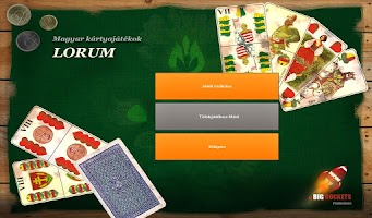 Screenshot of Lórum - Hungarian Card Game