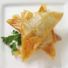 Prawn And Ricotta Filo Parcels
