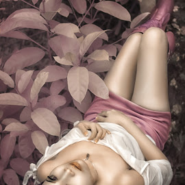 . : Lying Down : . by Rendy Palembang - People Fashion