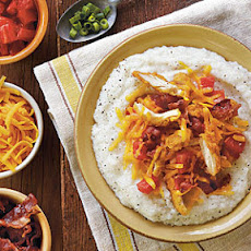 Simple Grits with Toppings