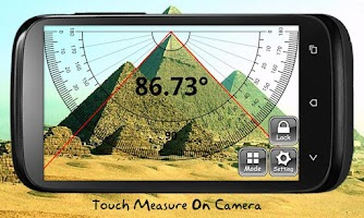 Screenshot of ON Protractor