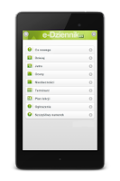 Screenshot of E-Dziennik
