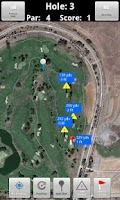 Screenshot of Caddie Stats Golf GPS