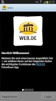 Screenshot of WEB.DE Fotoalbum