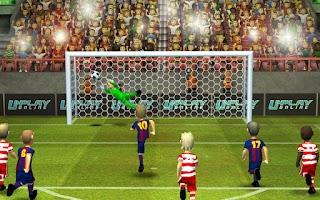 Screenshot of Striker Soccer 2
