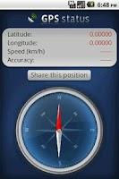 Screenshot of Gps - Simple