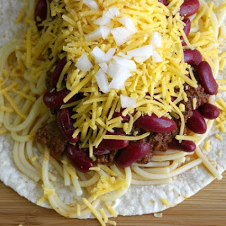 Smokey Cincinnati Chili Tacos