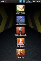 Screenshot of Car Home Samsung Vibrant