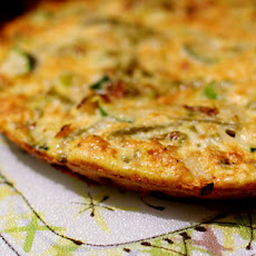 Empty-the-Fridge Fritatta