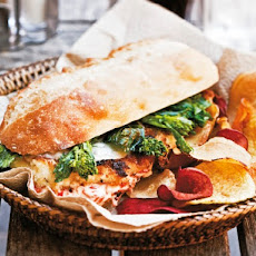 Cook the Book: Philly-Style Chicken Cutlet Sandwich