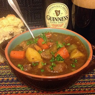 Guinness Beef Stew Recipe - Irish Beef Stew Recipe Stove Top Method - Slow Cooker (Crock Pot) Method