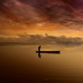 by Sourav Das - Landscapes Sunsets & Sunrises ( #sunset #nikond5200 )