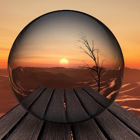Sun Globe [3D] by Jamie Keith - Illustration Products & Objects