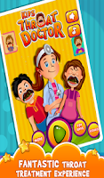 Screenshot of Kids Throat Doctor - Clinic