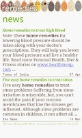 Screenshot of Home Remedies - Natural Cure