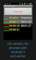 Screenshot of Contraction Timer Donate