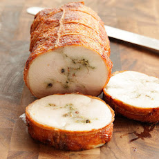Sous-Vide, Deep-Fried Turkey Porchetta (Turchetta)