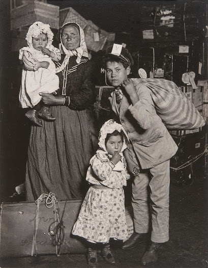 His earlier photographs had illustrated the plight of immigrants arriving on Ellis Island and the rise of child labor in the booming industrial America of the early twentieth century.