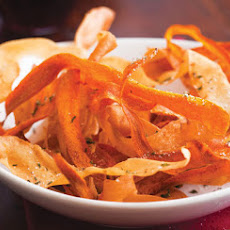 Parsnip and Carrot Chips