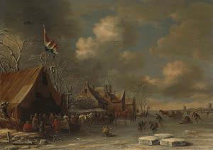 RIJKS: Thomas Heeremans: painting 1677