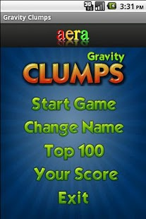 Gravity Clumps - screenshot