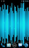 Screenshot of Stripe Line Live Wallpaper