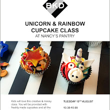 BKD KIDS UNICORN & RAINBOW CUPCAKE DECORATING CLASS @ NANCY'S PANTRY