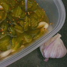 Great Grandpa's Garlic Pickles