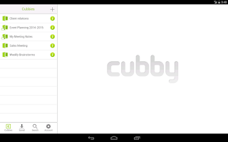 Screenshot of Cubby