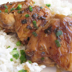 Timely Teriyaki Chicken