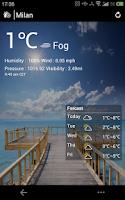Screenshot of Weather Eye