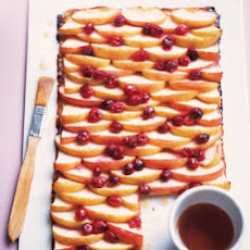 Cranberry, Apple, and Maple Phyllo