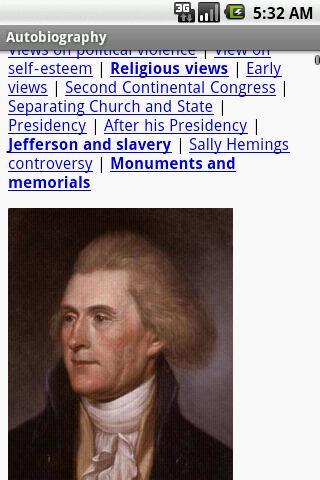 免費書籍App|Autobiography by Jefferson|阿達玩APP