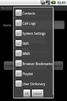 Screenshot of BackItUp Pro