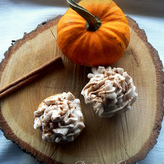 Pumpkin Spice Cupcakes with Maple Cinnamon Frosting