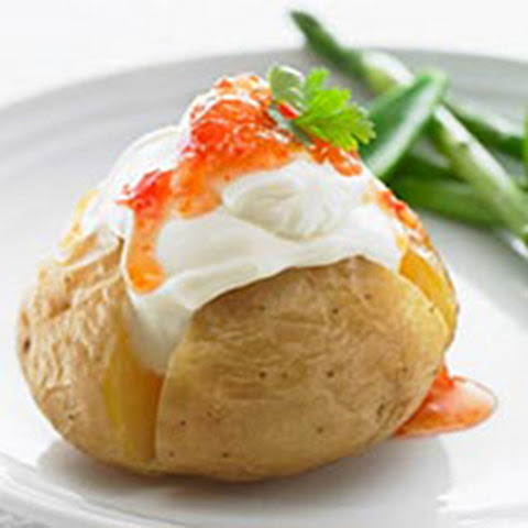 Sweet Chilli PHILADELPHIA Baked Potatoes