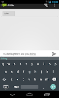 Screenshot of Android L Keyboard Pro