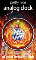 Screenshot of FC Bayern Munchen Sense Clock