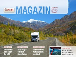 Screenshot of CANUSA Magazin