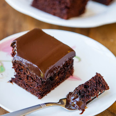 Chocolate Cake with ChocolateGanache
