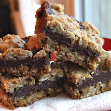 Fudge- Nut Layer Bars