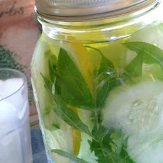 Herbal Lemon-Cucumber Water