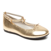Gucci Metallic Mary Jane BALLERINA SHOES