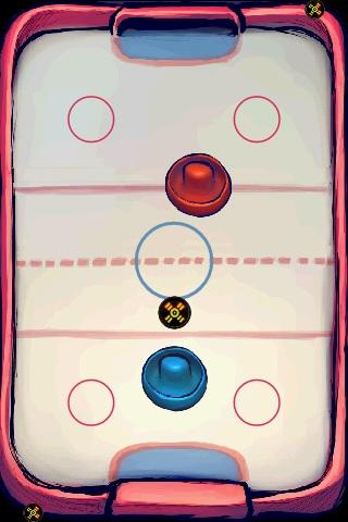 Deluxe Spin Air Hockey