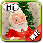 Talking Santa Claus icon