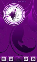 Screenshot of Royal Purple Clock